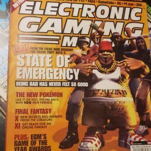 42 Issues Electronic Gaming Monthly Magazine